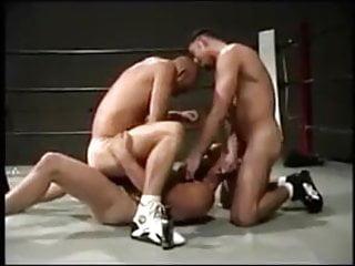 Cogiendo en el ring...