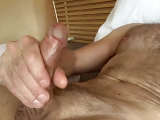 Home alone and jerking off naked on my...