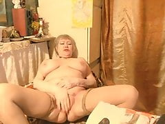 Beautiful Russian Granny Lelaniy - part 1