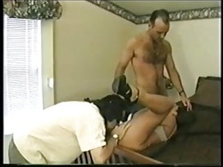 British MILF Nici Stirling gets fucked in a FMM threesome