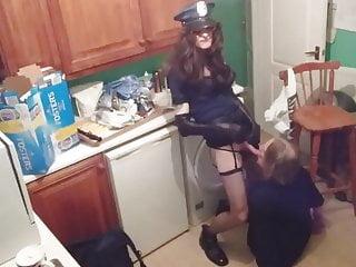 Paula The Rookie Makes An Arrest.