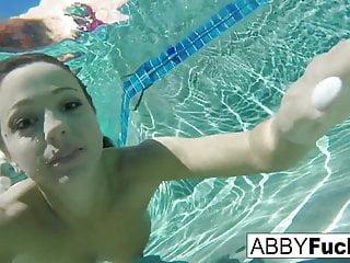 Scenes underwater...