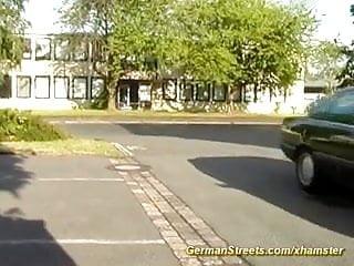 Young german pickup for bukkake...