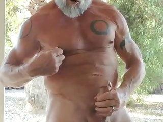 Indian Big cock old man masturbation