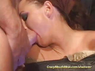 crazy blowjob monster