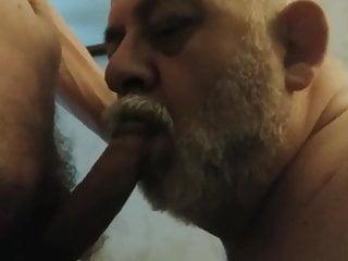 Beautiful grandpa suck...