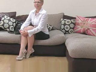 Britische Milf Casting Couch