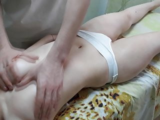 The Best Russian Massage. Relax tits massage