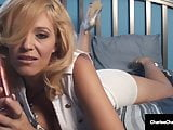 Busty Mommy Charlee Chase Masturbates Mature Muff To Orgasm!