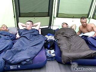 tommylads british camping gang bang so hot