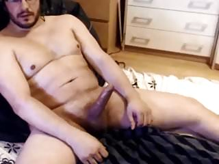 Dicked dude with great cum...