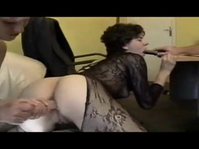 French Amateur Anal Party