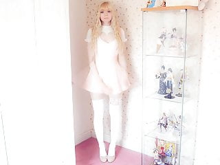 Peach Milky Modelling Hot Outfits