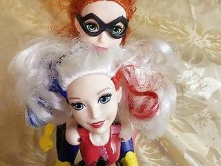 Furrygetme bat girl doll harley Quinn revenge cum bath
