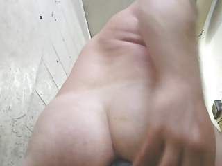 Perfect butt anal cam black dildo joeyd...