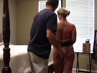 The Swinger Experience Presents Slave girl May Punished rear view