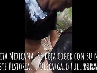 Morrita Mexicana, se deja coger con el novio.