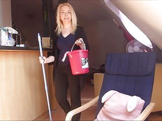 the blonde teen cleaning lady is fuckedPorn Videos