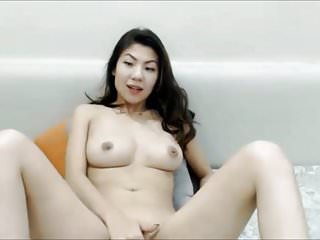 Asian chinese fingering in webcam great tits...
