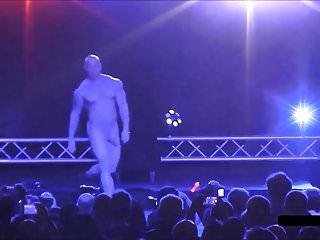 Bodybuilder stripper boner...