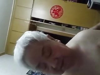 Asian Mature porno: chinese old couple
