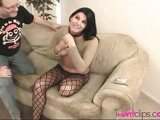 Hot Brunette Gets Tied up