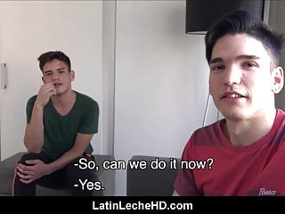 Amateur latino boys make first time sex tape...