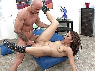 Cute latina cam cock...