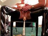 Prostate Machine while fucking 2 - both cum again!