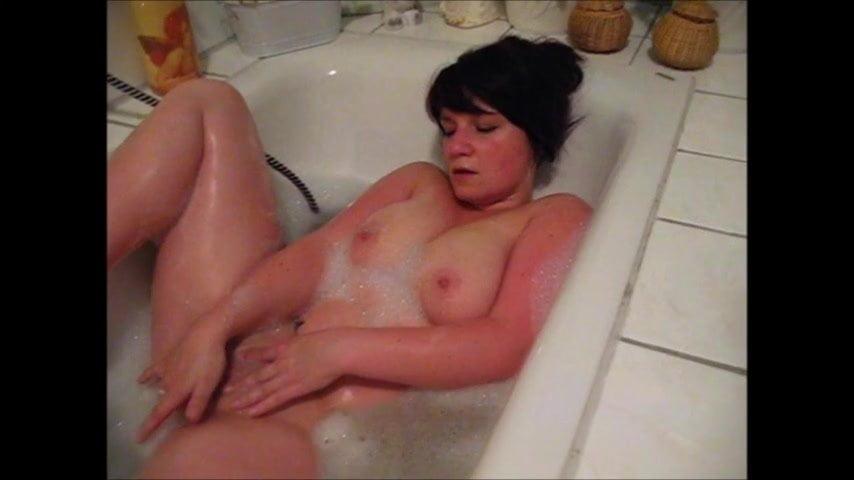 Ich versaut in der Badewanne