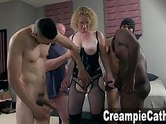 Milf Takes Multiple Creampies