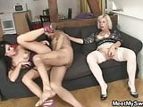 She stayed with his naughty parents