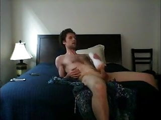 Fleshlight jerk pound and cum on the bed...