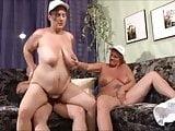 German Fat Milfs threesome Part 1