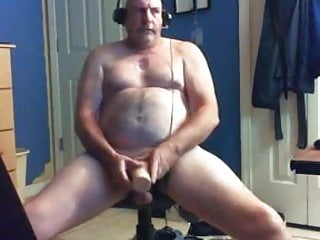 Having fun with masturbator and eating his cum...