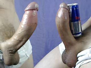 Cock hands free cumshot slow motion alex8x6...