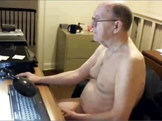 Senior nudist...