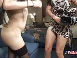 Nikki Montero shooting another POV lesbian movie