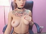 Hot hairy girl with big tits - pt1