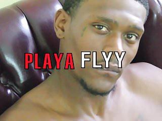 Playa flyy stroking his massive...