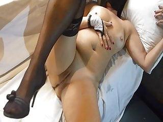 masturbating my shaved pussy