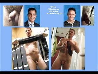 Hottest daddy cock gym...