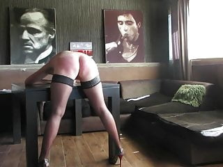 Spanking Big Ass Hd Videos video: Arse Spanked With Belt