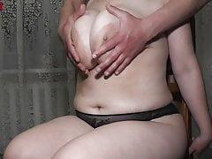 MyHappySpring - POV Tittyfuck on a chair