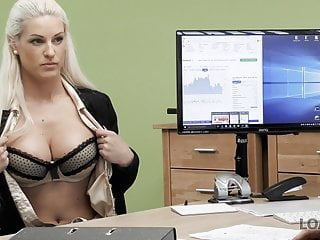 LOAN4K. Agent cant wait to push his dick in adorable Blanche