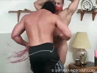 Bodybuilder gym bound naked...