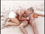 Cute Blonde Resuscitates Drowned Man