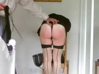 wife spanked raw 2...