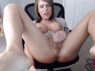 Tgirl and her dildo machine