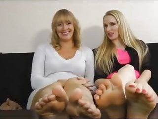 United kingdom mom and daughters cute soles